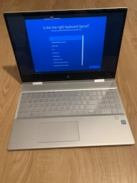 Hp envy 15.6 inch x360 8th i7 8gb ram 512 ssd Rockville, 20850
