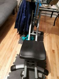 black and gray exercise equipment Montréal, H4R 2Y9