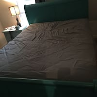 Queen sized bed