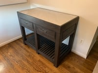 Williams Sonoma kitchen island  (pottery Barn, Crate and Barrel,  West Elm) Rockville, 20814