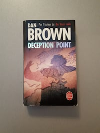 Le livre Deception Point de Dan Brown Sochaux