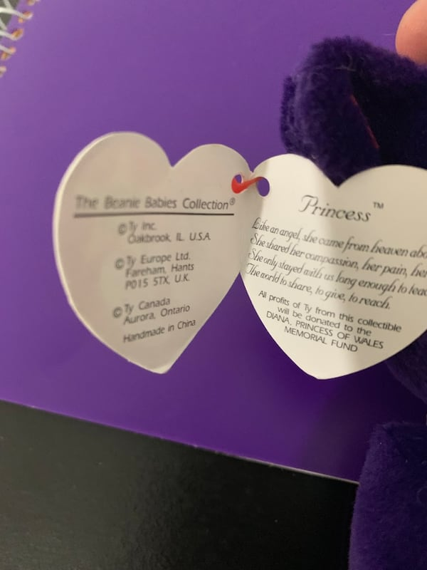 Used 1st Edition Princess Diana Beanie Baby For Sale In Akron Letgo