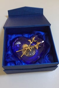 Heart shaped crystal music box by Scents of the World Co. Jacksonville, 32216