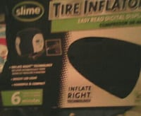 black Slime tire inflator box