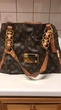 Louis vuitton monogram canvas veske 5938 km