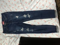 blue denim straight cut jeans Gatineau, J8T 8C7