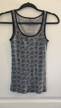 Blue and white tank size S/Ch (4/6) Amarillo, 79124