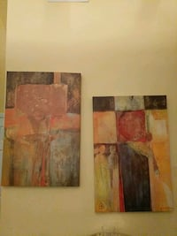Abstract painting Raleigh, 27604