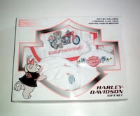 Harley Davidson 4 Piece Newborn to 6 Months Gift Set London