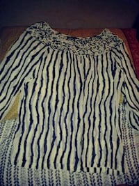 stripped blouse large Dallas, 75212