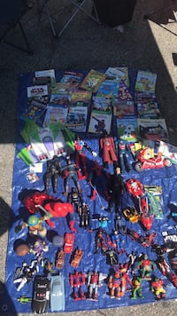 assorted Marvel action figure collection Berkeley, 94703