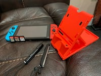 Nintendo switch neon with games and more Chantilly, 20151