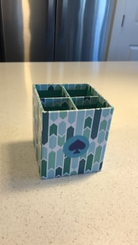 Pencil cup holder with Kate Spade stickers  Calgary, T3E