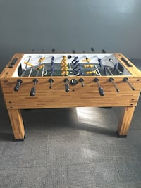 Brown and black foosball table Niagara Falls, L2H 1M5