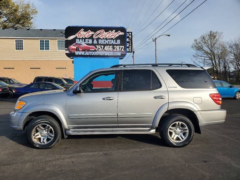 2003 Toyota Sequoia Limited 4WD 4dr SUV 5