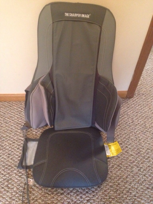 Used The Sharper Image Msi Cs775h Air And Shiatsu Massage Cushion W