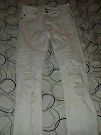 All white skinny jeans Bloomington
