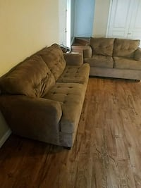 Brown Microfiber Couch and Loveseat  Frederick, 21703