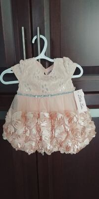 Brand New 6-9 month Party Dress