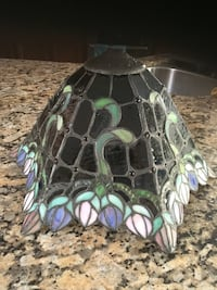 Stained glass lamp shade San Marcos, 92069