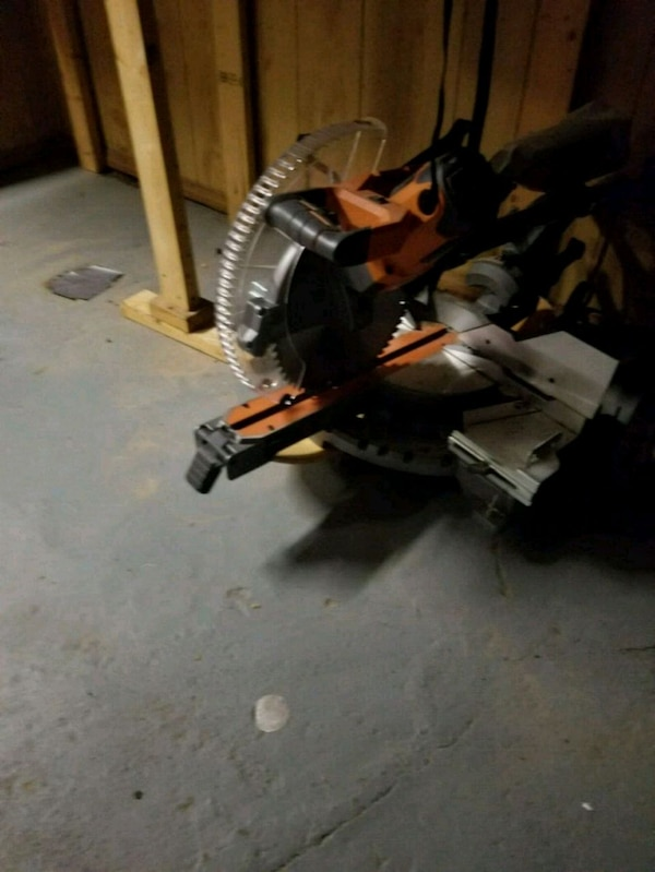 12 inches mirror saw ridgid sling two beveled