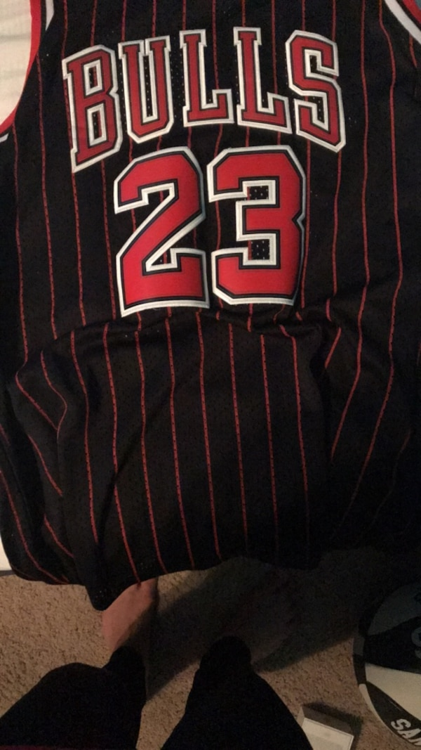 detailed look 2057f e6e49 Throwback Stitched MJ Jersey Men's Small