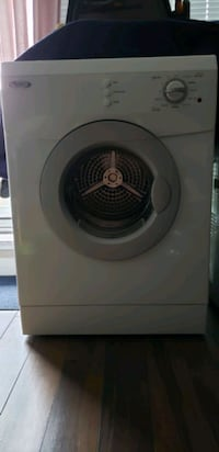 Whirlpool dryer apartment size