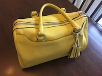 Coach yellow handbag Mesa, 85213