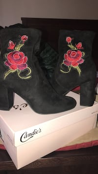 Candies booties Worn Once