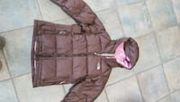 brown zip-up hoodie Brantford, N3T 5L6