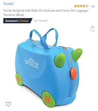 Brand New; Kids Ride On Suitcase