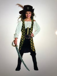 Halloween custume -Disguise Angelica Gis's pirates of the caribbean costume. Woburn, 01801