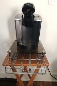 KEURIG Coffee Maker w/ stand & assortment of K cups  Easton, 18045