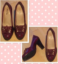 Dark red Michael Kors size 6 1/2, worn only 2-3 times San Diego, 92107