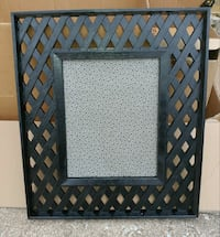 Large lattice frame. Norman