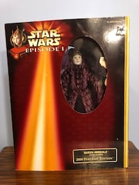 Queen Amidala 2000 Portrait Edition Collector's Item Charles Town, 25414