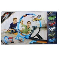 Air Chargers Twisted Turn Crashway Playset BNIB Green Car  2 SETS FOR ONLY $20  Many available for purchase.  Description Features Additional Info Product Description  Pump up the action, you control the power of your jumps, stunts and crashes. Air Charge Toronto