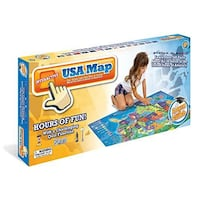 Talking Electronic Kids Map of the United States Franklin, 37069