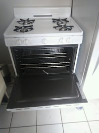 white and black gas range oven Detroit, 48227