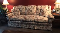 white and green floral 3-seat sofa Spruce Grove, T7X 3J3