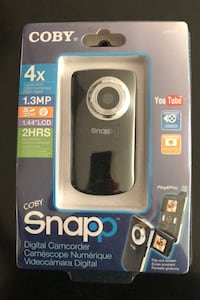 COBY Snapple's digital camcorder