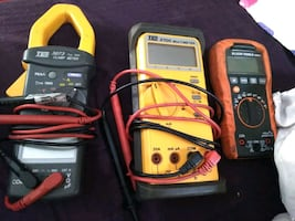 Group of test metres