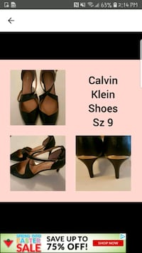 Calvin Klein ladies shoes . Whitby, L1N 8X2
