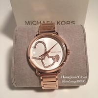 BRAND NEW 100% AUTHENTIC MICHAEL KORS PORTIA ROSEGOLD WATCH Reston
