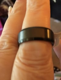 FATHERS DAY JUNE 17 BLACK RING STAINLESS STEEL SIZE 9 LAST ONE PPU ONLY Hendersonville, 37075