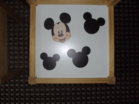 Chairs (2) Mickey Mouse