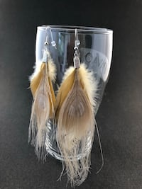 Earrings - Feather Toronto, M9R 1P3