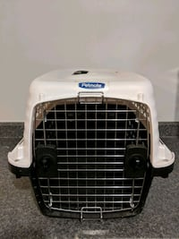 white and black pet carrier Toronto, M8Y 1W6