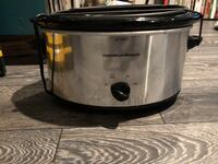stainless steel Crock-Pot slow cooker Burnaby, V5A 3Z5
