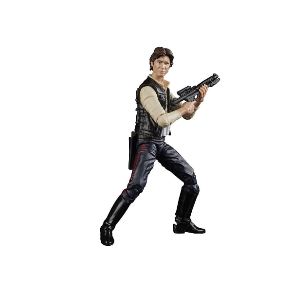 STAR WARS BLACK SERIES TITANIUM SERIES 40TH ANNIVERSARY HAN SOLO ACTION FIGURE- NEW!!!